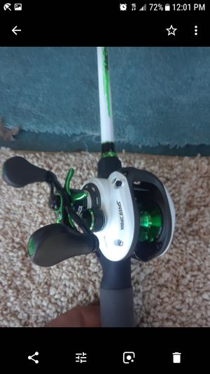 Lews mach one speed stick with 7. 3. I ten bearing lews reel for Sale in Martinez, CA