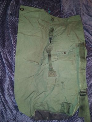 Army duffle bag for Sale in Oregon City, OR