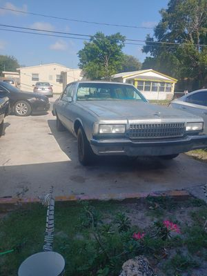 Chevy parts caprice parts shell project for Sale in Hollywood, FL