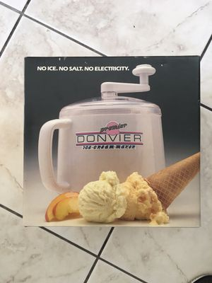 Vintage Donvier ice cream maker for Sale in Los Angeles, CA