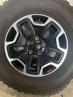 Jeep Rubicon Wheels And Tires for Sale in Bonney Lake,  WA