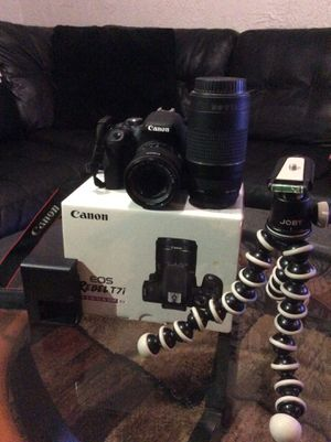 Canon Rebel t7i package for Sale in Detroit, MI