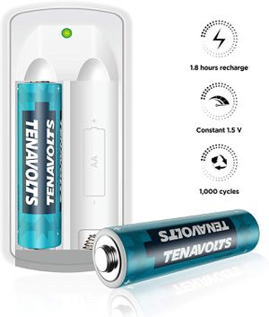 Rechargeable Lithium/Li-ion Batteries, AA Batteries Micro USB Charger Included, Constant Output at 1.5V,Quick Charge,2775 m2 Count for Sale for sale  Brooklyn, NY