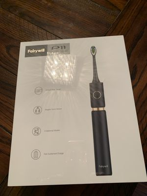 Sonic Whitening Electric Toothbrush - Travel Rechargeable Toohthbrush for Adults for Sale in San Jose, CA