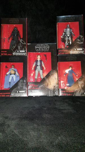STAR WARS BLACK SERIES for Sale in Woodway, WA