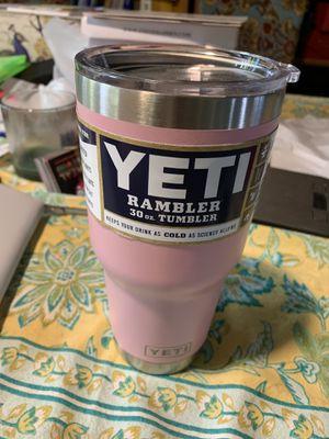 Harbor Pink Yeti Rambler 30oz for Sale in Johnson City, TN