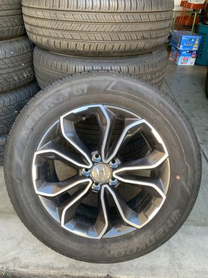 """Honda CR-V wheels and tires 18"""" for Sale in Los Angeles, CA"""