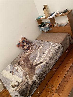 2 bed - bed frame for Sale in Watertown, MA