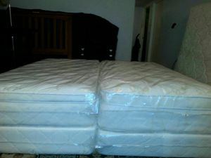 2 twin beds pillow top can deliver new for Sale in Tampa, FL