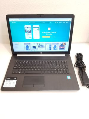 "HP Laptop 17.3"" Core i7- 85550U 8th Generation . 256GB SSD, Windows 10 for Sale in Los Angeles, CA"