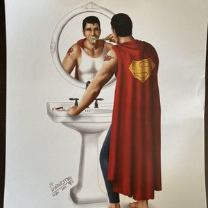 Superman Poster for Sale in Elma, WA