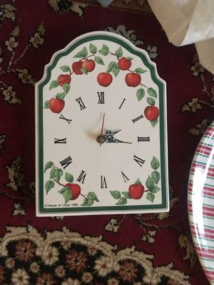 Kitchen apple clock for Sale in Portland, OR