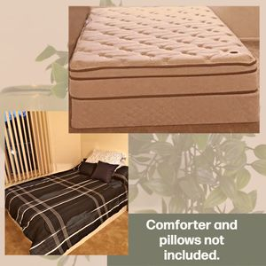 Full Size Mattress and Box Spring for Sale in Troy, MI