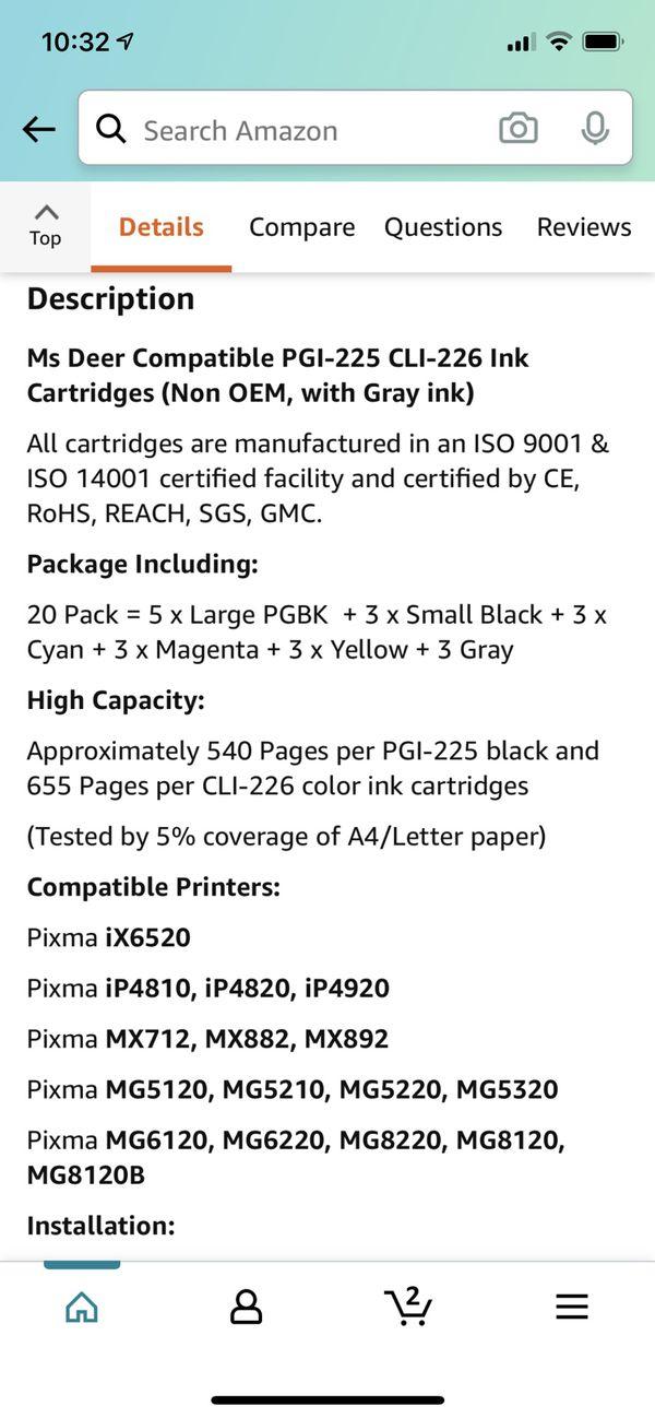 Printer Ink - Brand New!