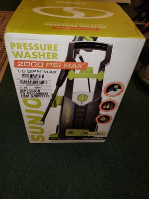 Sun Joe spx2598-max 2000 PSI Electric Pressure Washer with Foam Cannon for Sale in Westborough, MA
