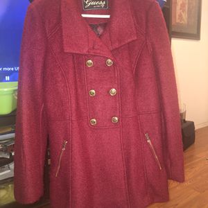 BEAUTIFUL GUESS WOMAN'S DOUBLE BREASTED COAT for Sale in La Habra, CA