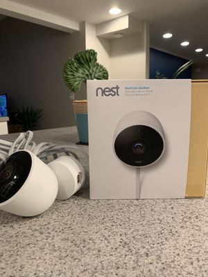 Nest cameras 1 brand new 1 slightly used for Sale in Milton, WA