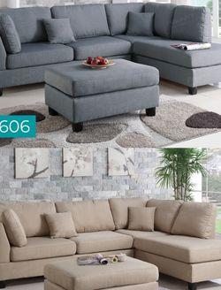 Sectional sofa With Ottoman Item#F7606/F7605 for Sale in Santa Ana,  CA
