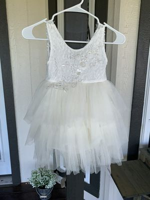 Dress -used for flower girl once for Sale in Rockwall, TX