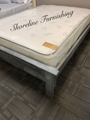 New full size bed frame and mattress for Sale in Los Angeles, CA