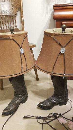 Western, lamp, lights, country, texas, cowboy, cowgirl for Sale in Pensacola, FL
