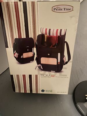 Picnic Time Wine & Cheese Cooler tote for Sale in Chicago, IL