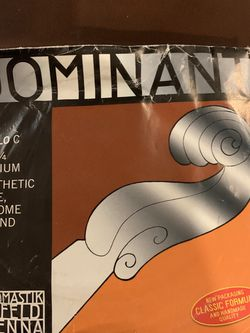 Thomastik Dominant 4/4 Cello c String 145 New for Sale in Highland,  IL