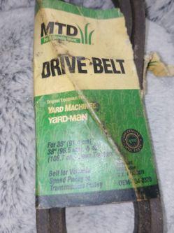 Mtd Yard Machine Yard Man Belt 754-0370 for Sale in Bellmawr,  NJ