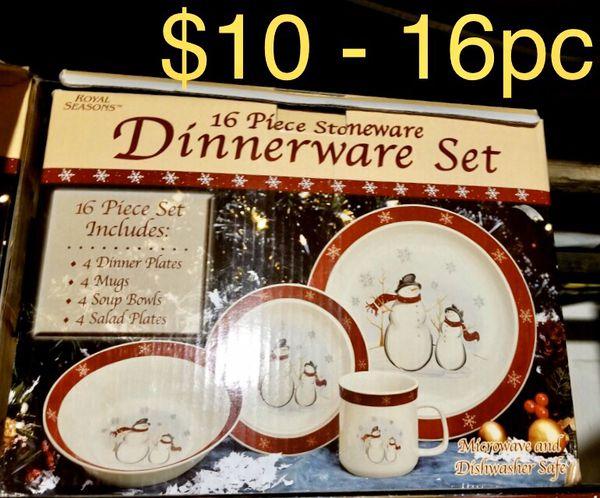 Dinnerware - Plates - Mugs - Holiday