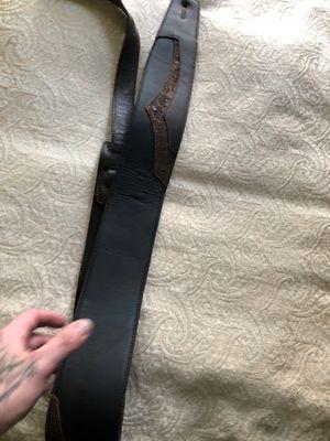 Custom leather guitar strap for Sale in Baton Rouge, LA