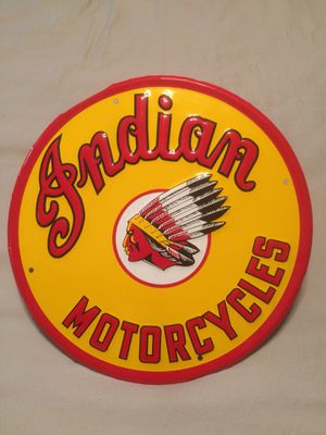 Indian Motorcycles Sign for Sale in Los Angeles, CA