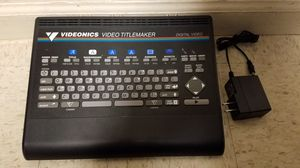 videonics video titlemaker for Sale in Chambersburg, PA