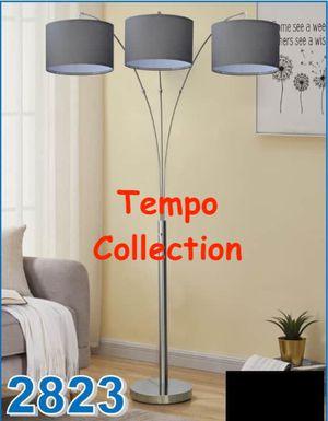 NEW, 3 Headed Floor Lamp, Grey Shade, SKU# 2823 for Sale in Garden Grove, CA