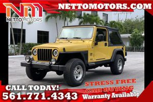 2006 Jeep Wrangler for Sale in West Palm Beach, FL