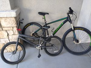 I got a ghost Kato 5 and a b c a 20 in mountain bike for Sale in Las Vegas, NV