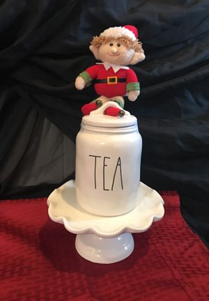 Small tea canister Rae Dunn for Sale in Sanger, CA