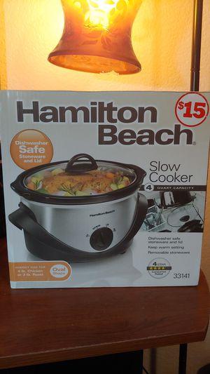 Hamilton Beach 4 qt slow cooker for Sale in Phoenix, AZ