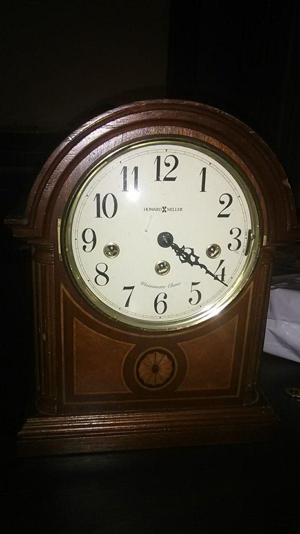 Howard Miller Mantel Clock Antique