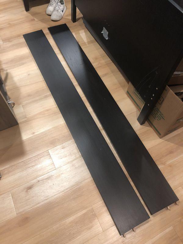 "Full size IKEA ""Hemnes"" frame and box spring"