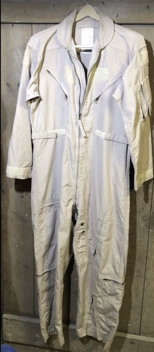 Vintage Military Army NOMEX Flight Suit CWU-27/P size 44 S Tan for Sale in New Holland, PA