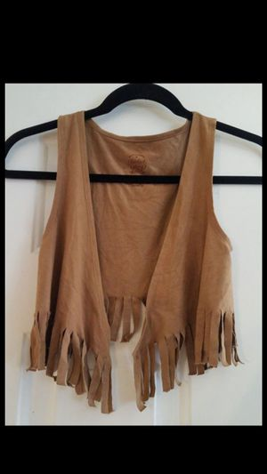 Girl's size small 6-6× Fringed Vest also great for Halloween Costume for Sale in Fullerton, CA