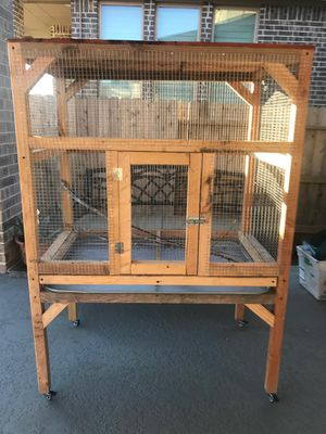 """34""""x40"""" New Bird Cage with Wheels for Sale in Sugar Land, TX"""