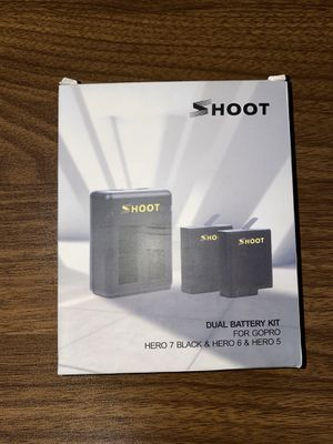 GoPro Dual Battery Charger Kit for HERO 5-8 BLK for Sale in Edison, NJ