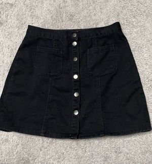 Black button up skirt for Sale in Spokane, WA