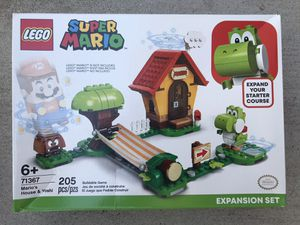 Brand New ! LEGO Super Mario Mario's House and Yoshi Expansion Set Collectible Toy for Creative Kids ! 71367 for Sale in Chino Hills, CA