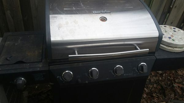 Char-Broil grill electric converted to charcoal