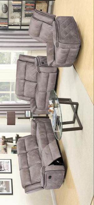 💯Arcelia Reclining Living Room Set | by Global 🚚SAME DAY DELIVERY for Sale in Glen Burnie, MD