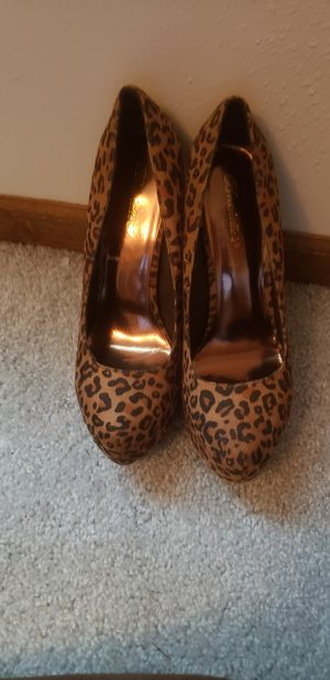 Leopard print heel Size 10 for Sale in Fairview Heights, IL