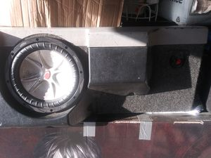subwoofers and amp kicker competition 12 and 2 tens for Sale in Vallejo, CA