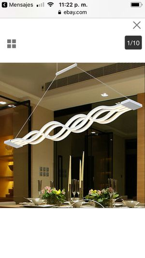 LED Ceiling Light Dimming Light Pendant Lamp Kitchen Island Chandelier 120cm for Sale in Castro Valley, CA